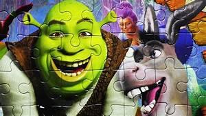 Shrek Characters Puzzle Games Shrek Play Rompecabezas De Shrek Clementoni