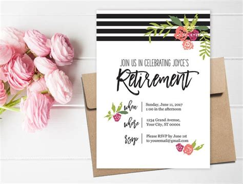 20+ retirement game ideas plus awesome prize ideas too! Retirement Party Invitation and Party Decor // Retirement