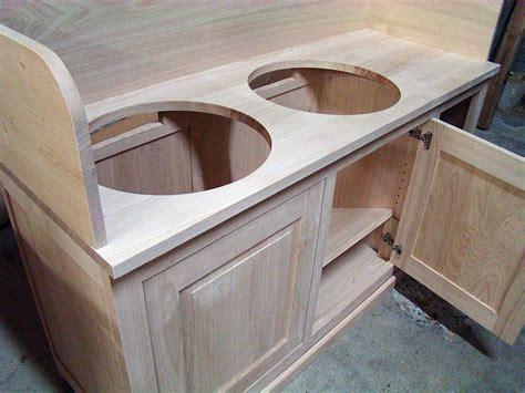 fabriquer un tablier de cuisine brut de bois fabrication de meubles sur mesure pour les particuliers