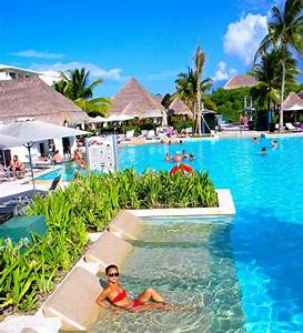paradisus playa del carmen la perla riviera maya mexico With mexico all inclusive honeymoon