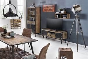 Vintage Möbel Online Shop Günstig : sit m bel wohnwand iron mangoholz schmiedeeisen m bel letz ihr online shop ~ Bigdaddyawards.com Haus und Dekorationen