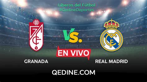 Granada vs. Real Madrid EN VIVO: hora y canal para ver el ...