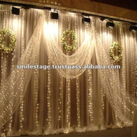 buy pipe and drape wedding decoration with white background curtain