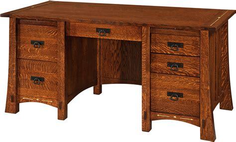 pencil desk pencil desk custom amish furniture solid hardwood