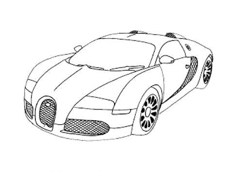 Drawings Of Bugatti Veyron In 3d