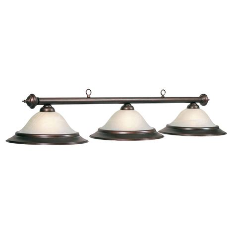 pool table lights lowes shop ram gameroom products oil rubbed bronze pool table