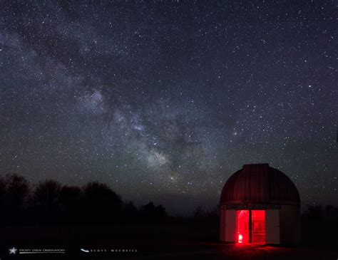 Milky Way Galaxy Plus Saturn Equals Magical Night For