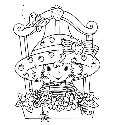 Kleurplaat Een Paar Meiden Starbery Schortcake by Leuk Voor Strawberry Shortcake 0008
