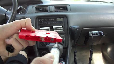 cleaning  demagnetizing  toyotas cassette tape deck