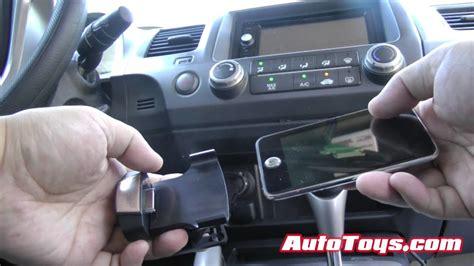 honda civic ipod dice cradle  pioneer avicx charging