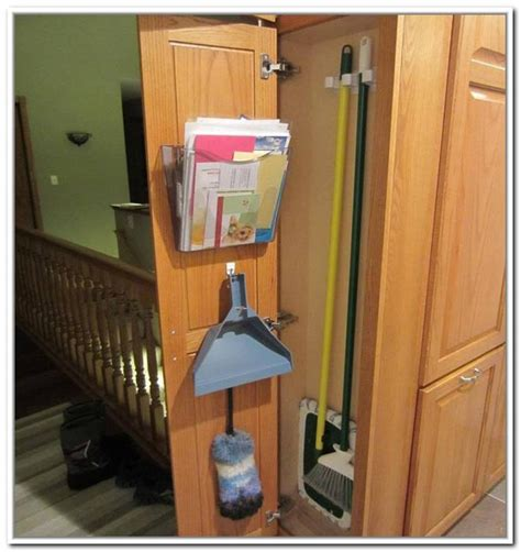 broom closet cabinet lowes broom closet will keep your home neat while cleaning