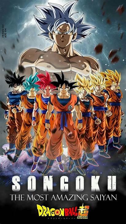 Goku Super Dragon Ball Son Anime Forms