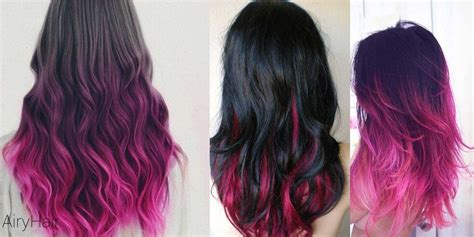 10 Stunning Black Ombré Hairstyles With Hair Extensions