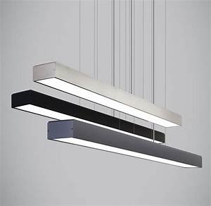 Knox linear suspension companies in usa bar and dining for Suspended lighting