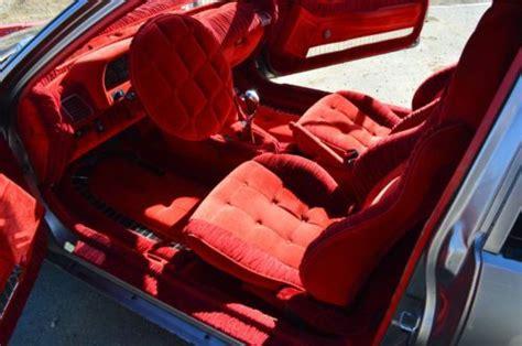 Buy Used Honda Crx Si 1988 Clean Show Car Red Interior