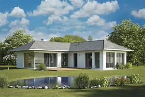 Haus Bungalow Modern : bungalow walmdach iqhausbau ~ Markanthonyermac.com Haus und Dekorationen