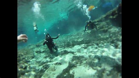 ginnie springs scuba dive  gopro hero hd youtube