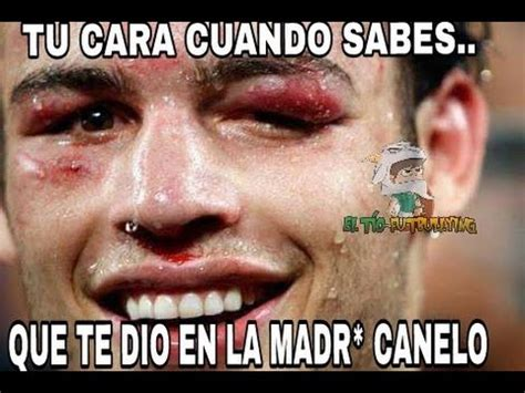Canelo Meme - los memes de la pelea canelo vs ch 225 vez jr youtube