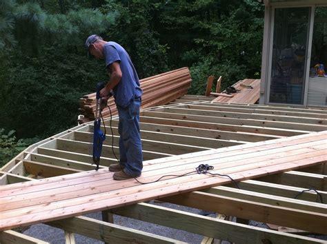 outdoor living walk cedar deck