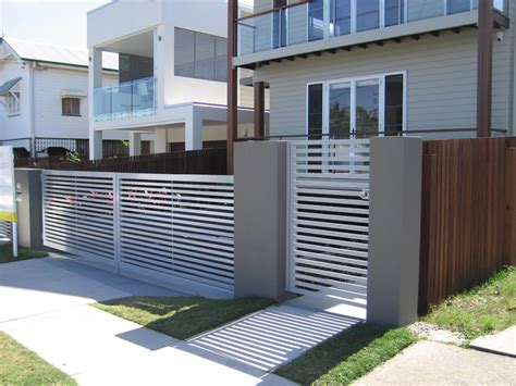 design of fence and gate front gate designs by privacy fencing perth quotes