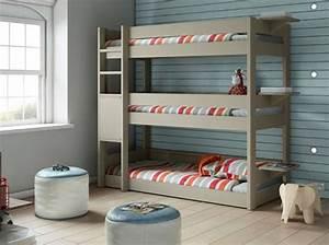 Lit Superposé Ikea 3 Places : adoptez le lit superpos pour vos enfants elle d coration ~ Melissatoandfro.com Idées de Décoration