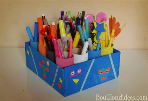 faire un pot a crayon cr 233 er un pot 224 crayons diy rentr 233 e rangement