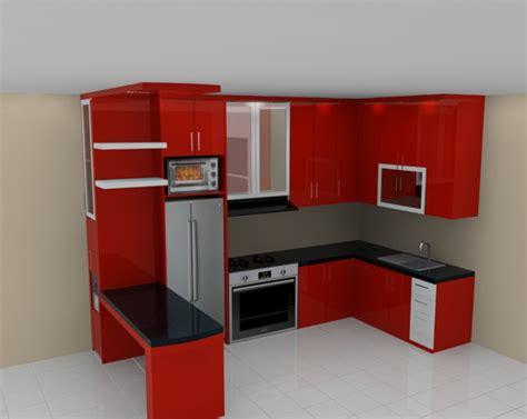 Kitchen Set Merah Home Decor Ideas