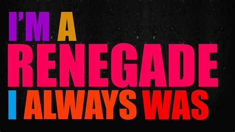 Renegade Lyric Video Chords