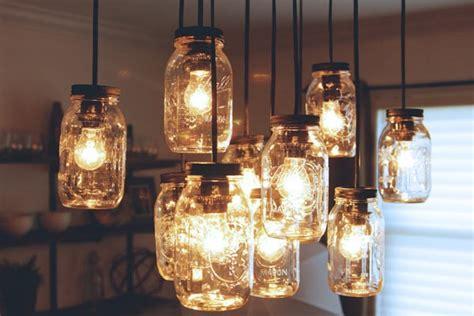 jar chandelier diy 50 amazing jar crafts pink lover