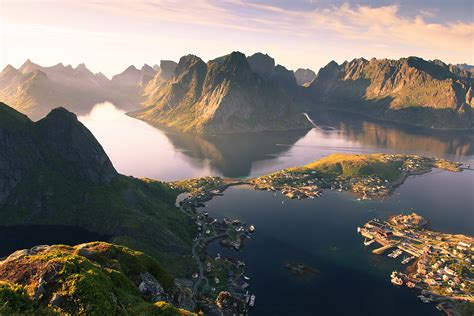3 Minutes Before Sunrise On Reine, Norway