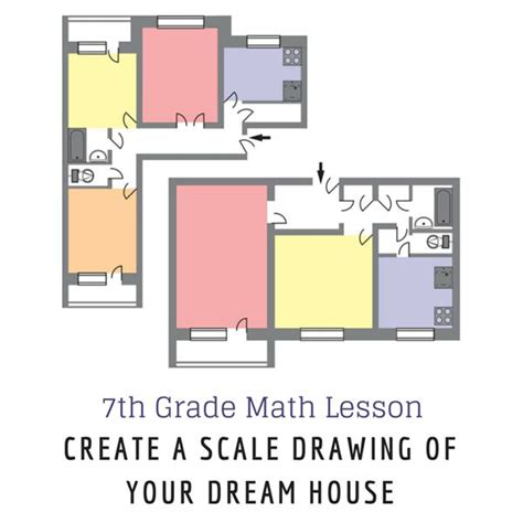 how to find blueprints of your house 7th grade math lesson on scale drawing create your home