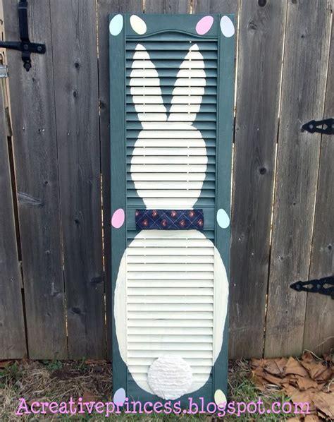 craft shutters diy shutter bunny old shutters pinterest