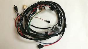 1969 Nova Ss Chevy Ii Forward Front Light Wiring Harness