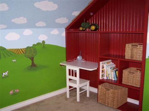 tractor bedroom ideas  pinterest boys tractor room john deere room  boys