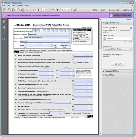 Creation Pdf interactive pdf form creator and automation data