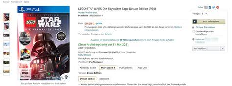 LEGO Star Wars: The Skywalker Saga Videospiel - Deluxe ...