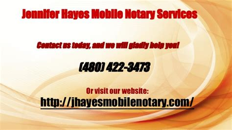 jennifer hayes mobile notary services