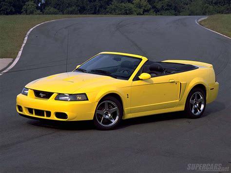 Mustang Cobra : 2003 Ford Mustang Svt Cobra