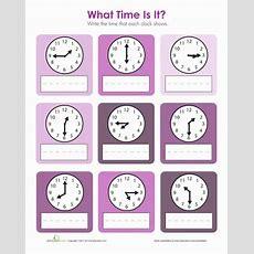 Time Units  Worksheet Educationcom