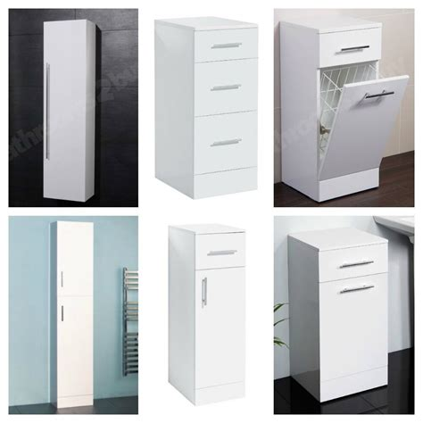 choice  modern white bathroom storage units cabinets