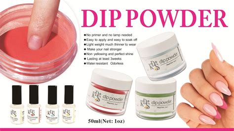 Kds Color Dipping Powder,dip Powder Nails Starter Kit