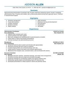 Www Myperfectresume by 1000 Images About Resume Exles On