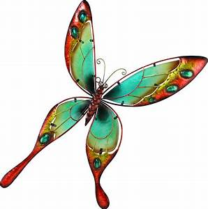 Outdoor butterfly wall decor metal makes the difference