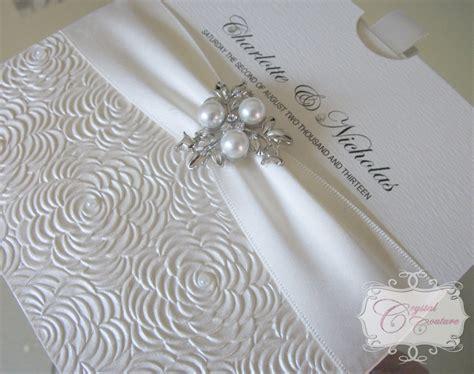 diamonds  pearls themed weddings luxury satin