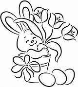 Bunny Coloring Pages sketch template