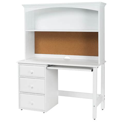 kids desk with hutch student desk with hutch by maxtrix kids shown in white
