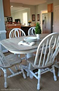 How to Refinish a Table - Sand and Sisal
