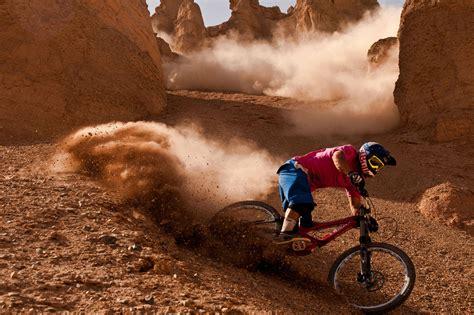 mountain biking sandpit wallpaper   bikes