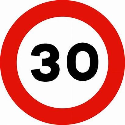Signal R301 Traffic Svg Signs Spain Road