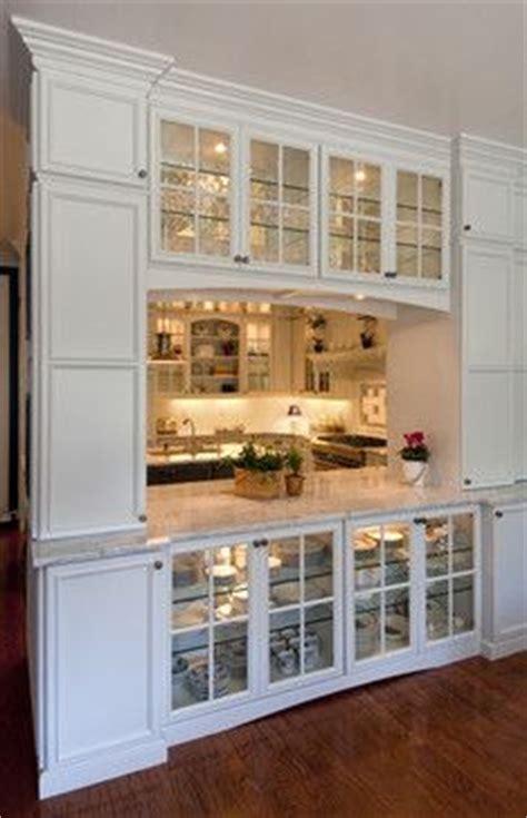 see through kitchen cabinet doors 17 best ideas about pass through kitchen on 7879